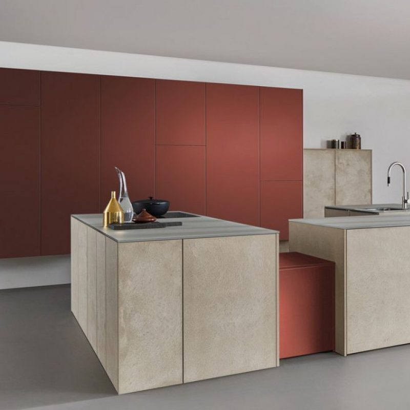 Minimalist designer kitchen by Hubble