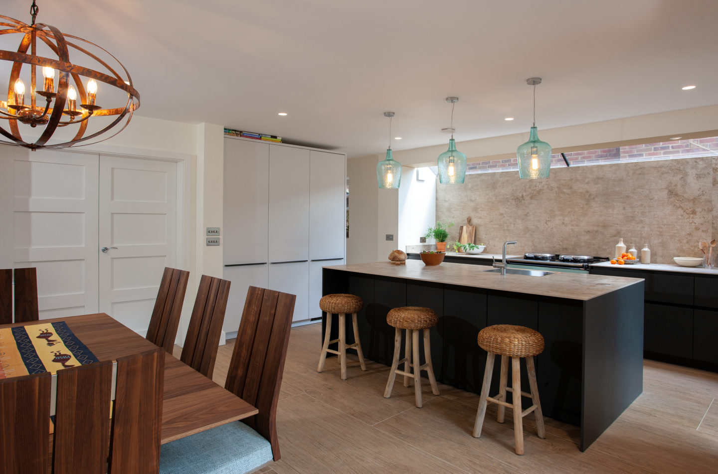 Traditional Aga In A Modern Kitchen Hubble Kitchens Interiors