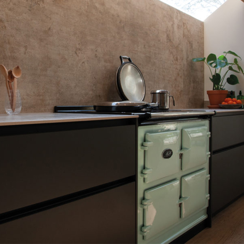 Designer kitchen with AGA by Hubble