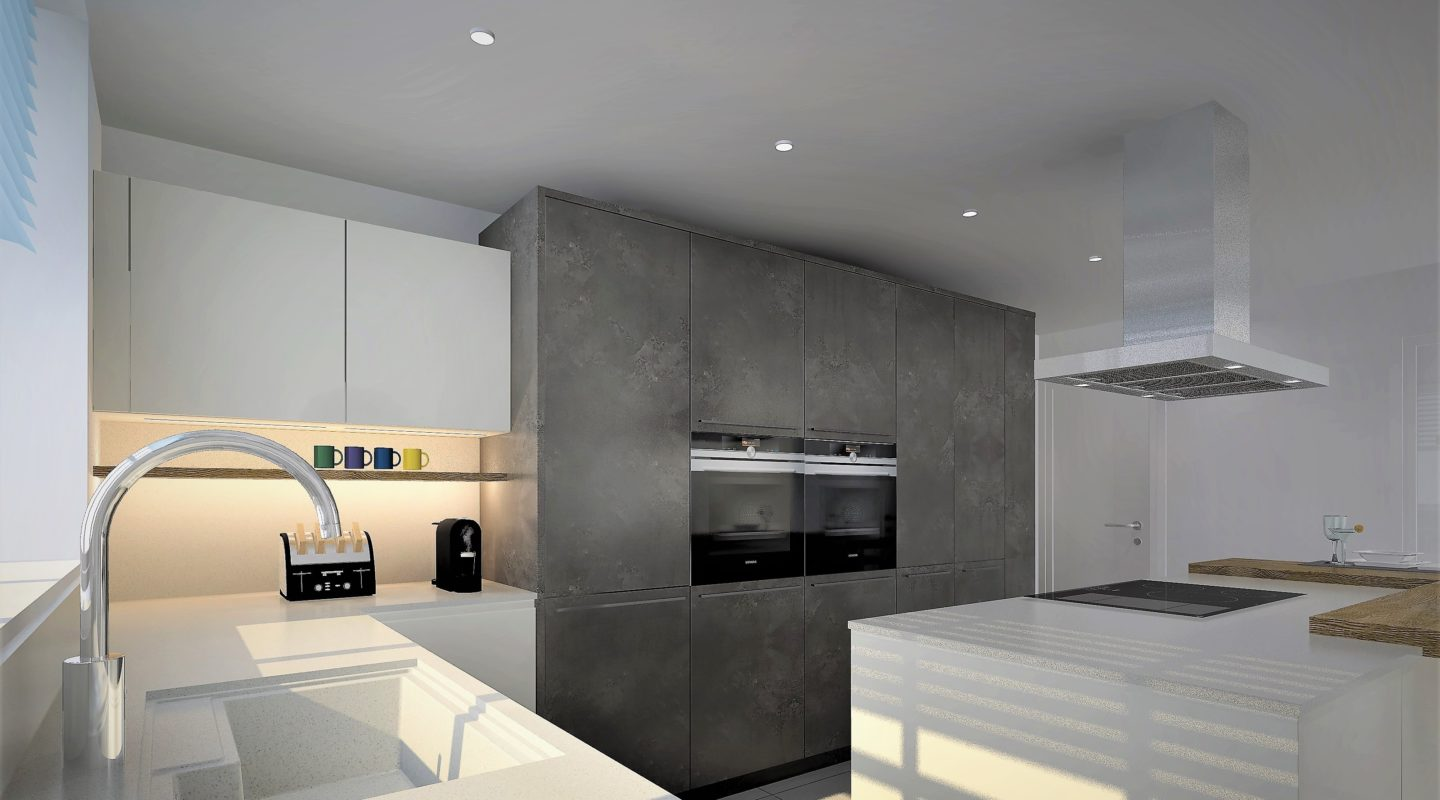 Kitchen design and fitting by Hubble