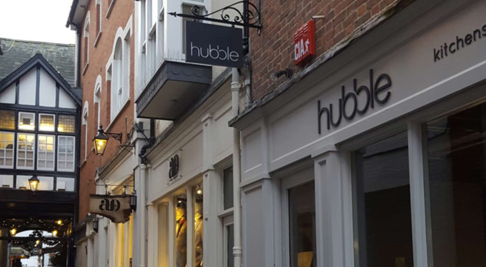 Hubble Kitchens & Interiors shop in Angle Gate, Guildford