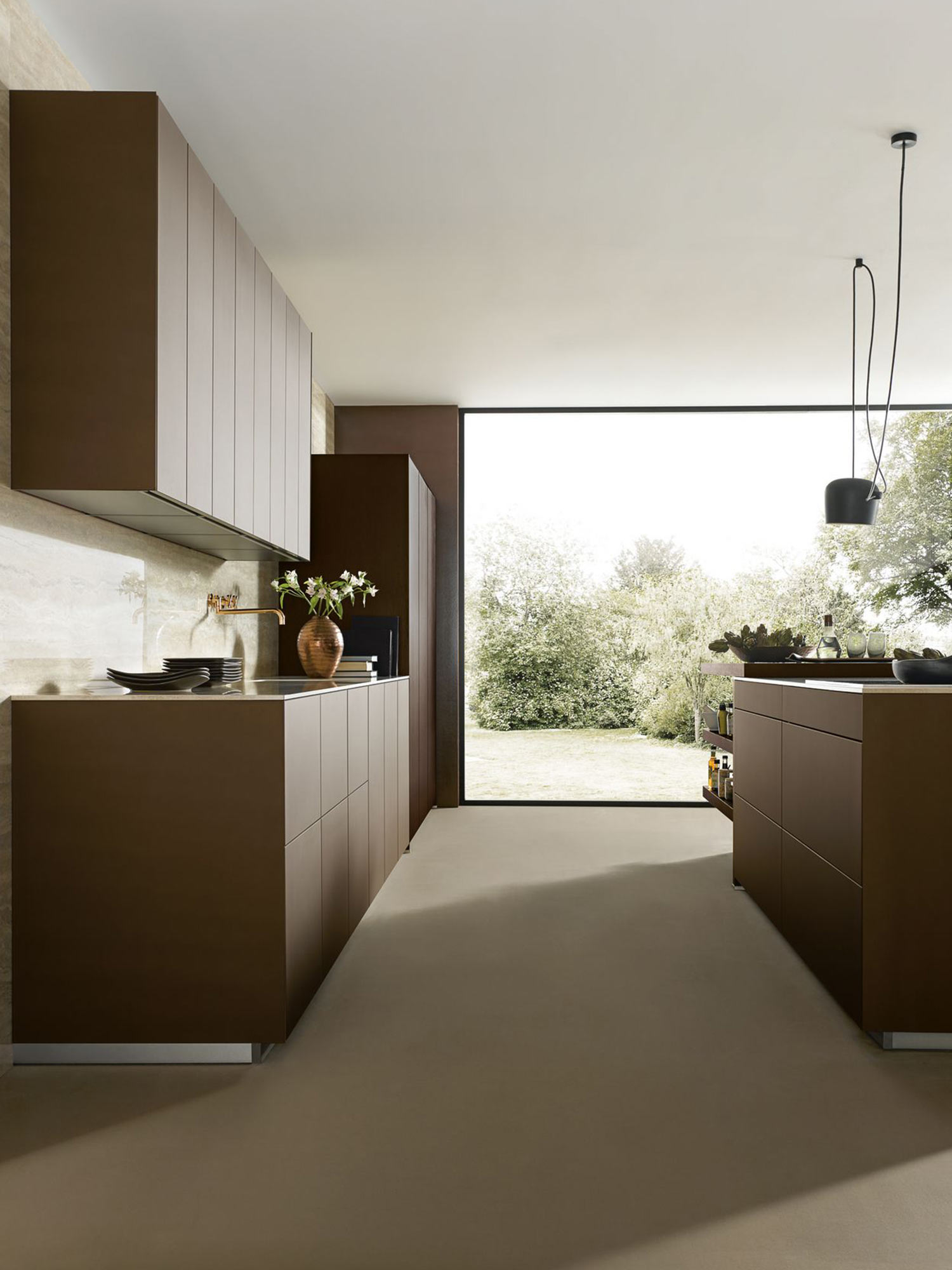 Contemporary German kitchen design for modern living by Hubble