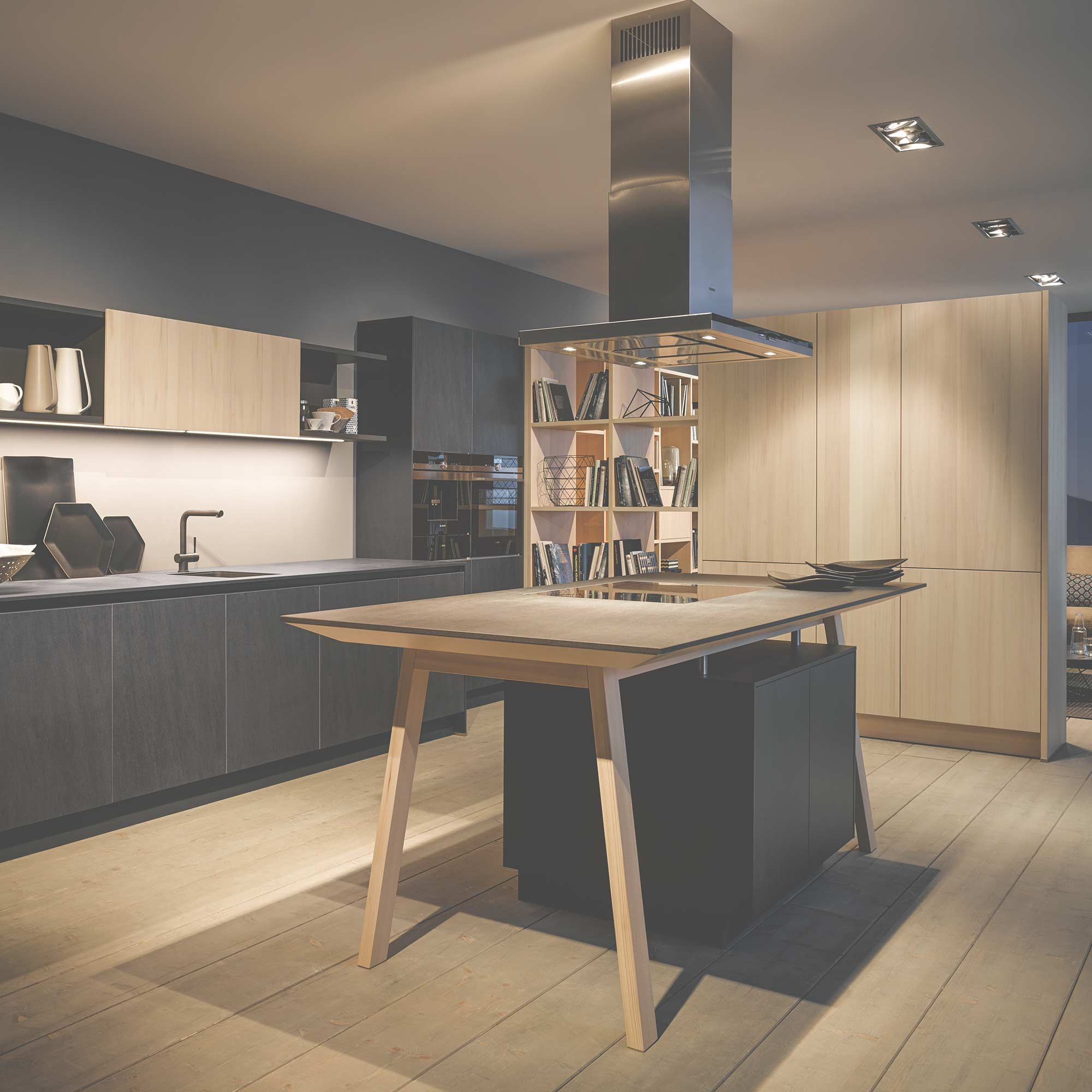 Quality German kitchen design by Hubble