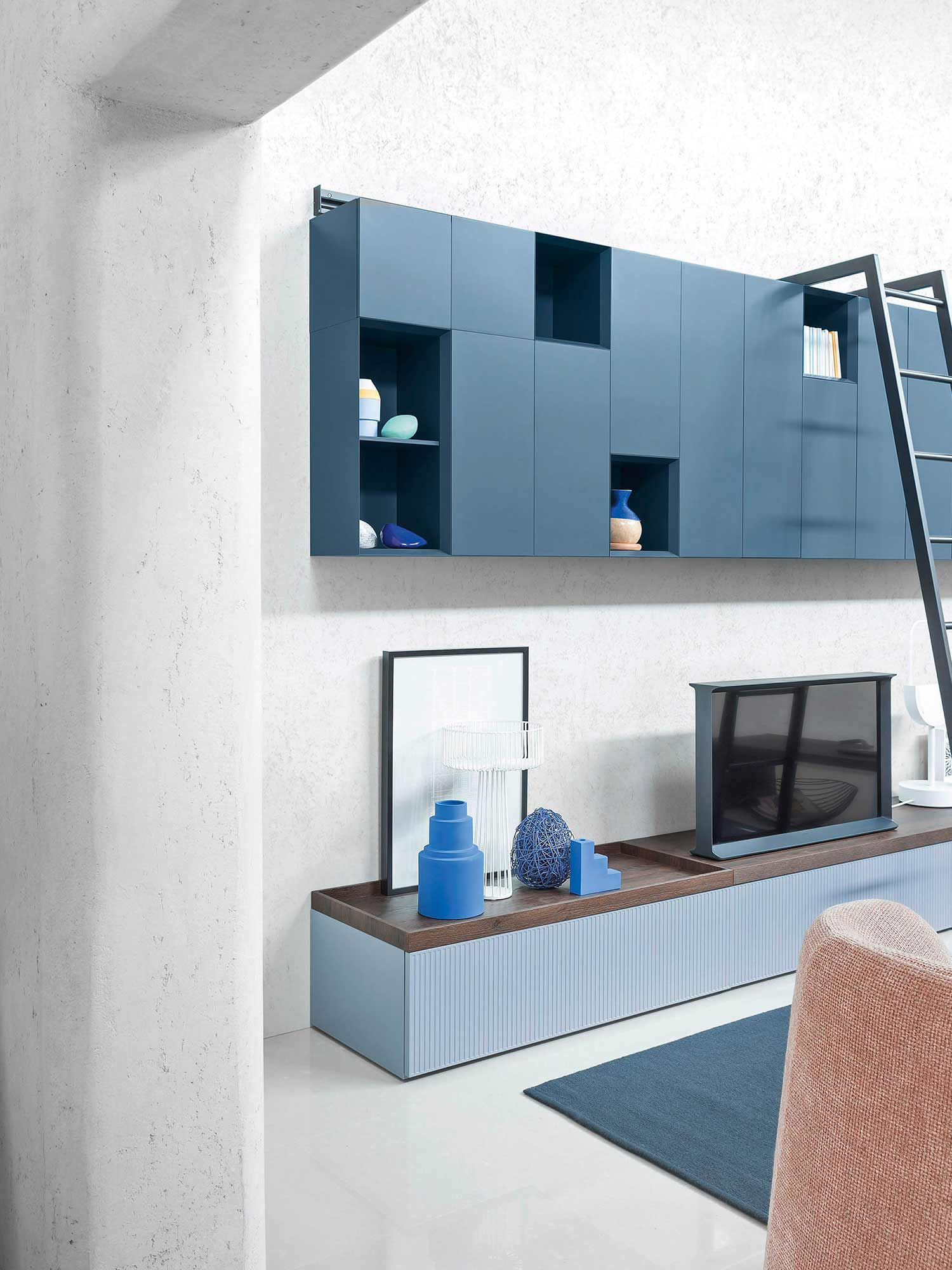 Storage solutions for contemporary living, designed by Hubble