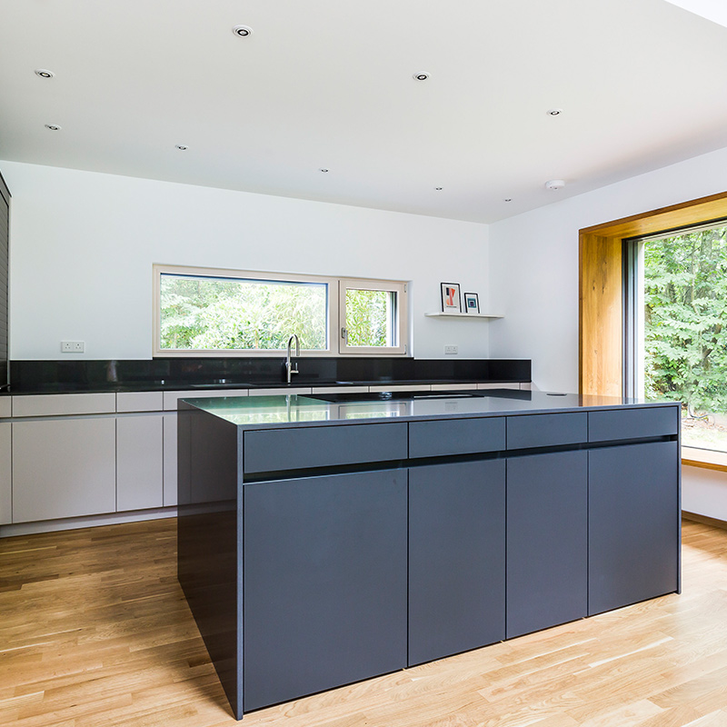 Surrey kitchen design and fit by Hubble