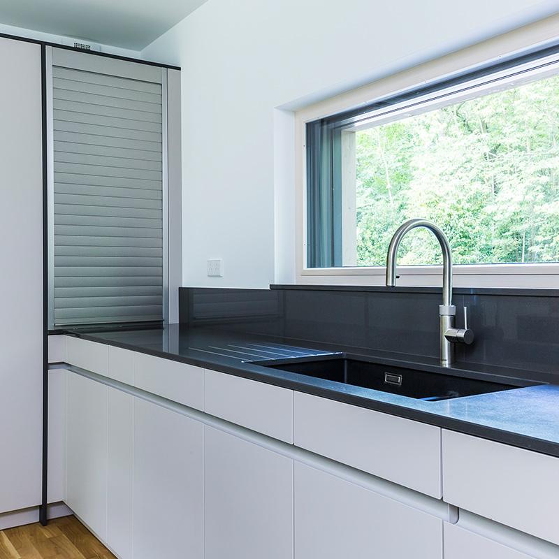 Modern designer kitchen fitting by Hubble
