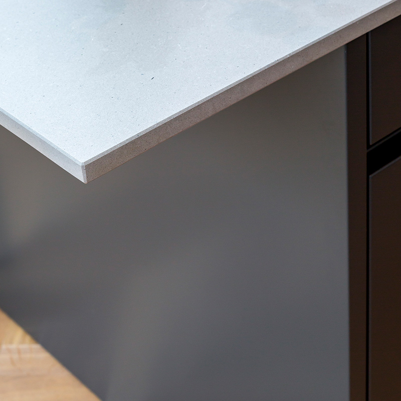 High quality worktop corner in designer kitchen by Hubble