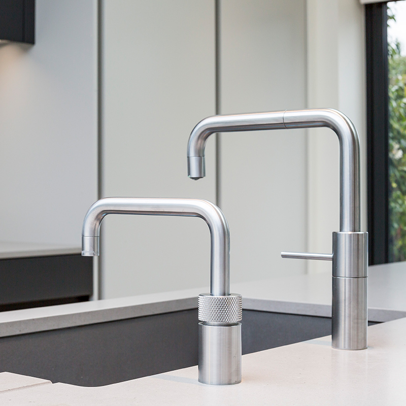 Modern tap feature in designer kitchen by Hubble