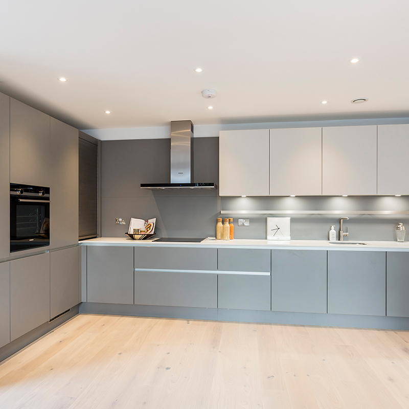 State of the art designer kitchen by Hubble