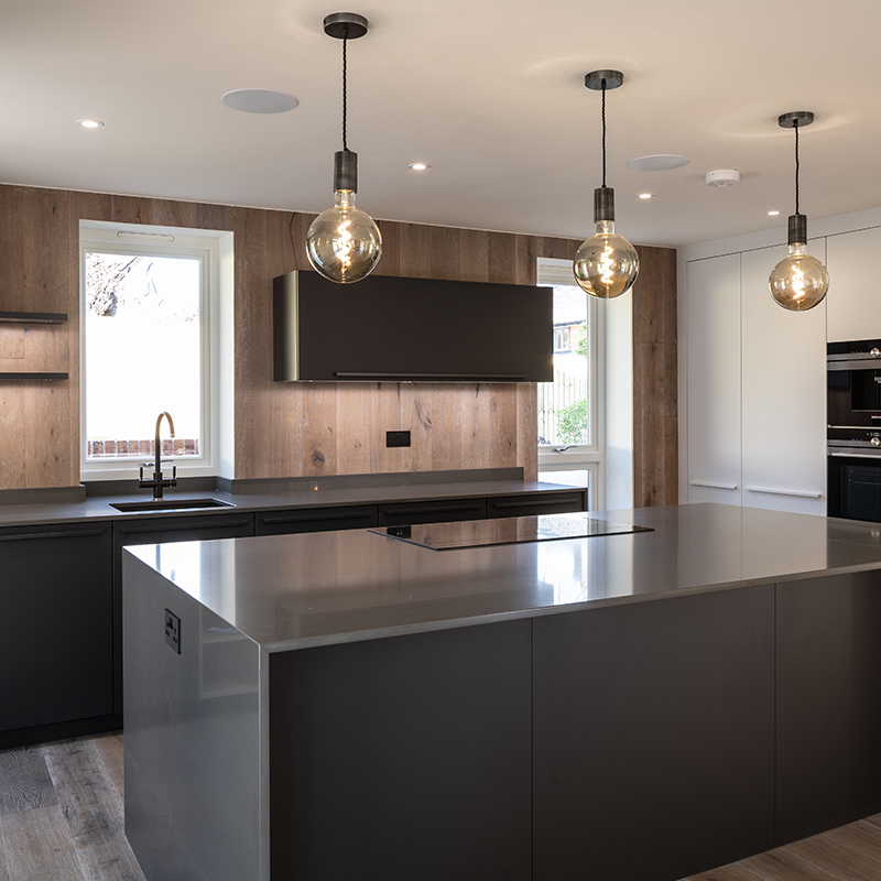 West Sussex kitchen design installation by Hubble