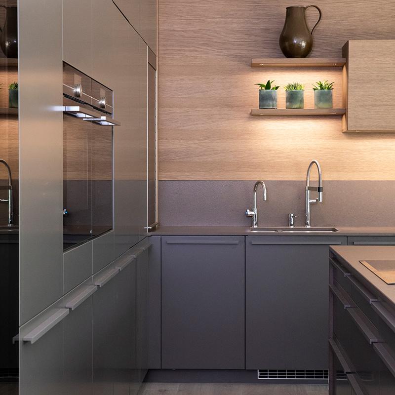 Designer kitchen in Surrey by Hubble