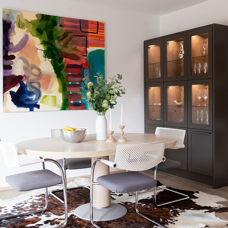 Dining room interior design by Hubble