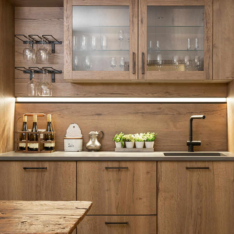 Traditional kitchen design by Hubble