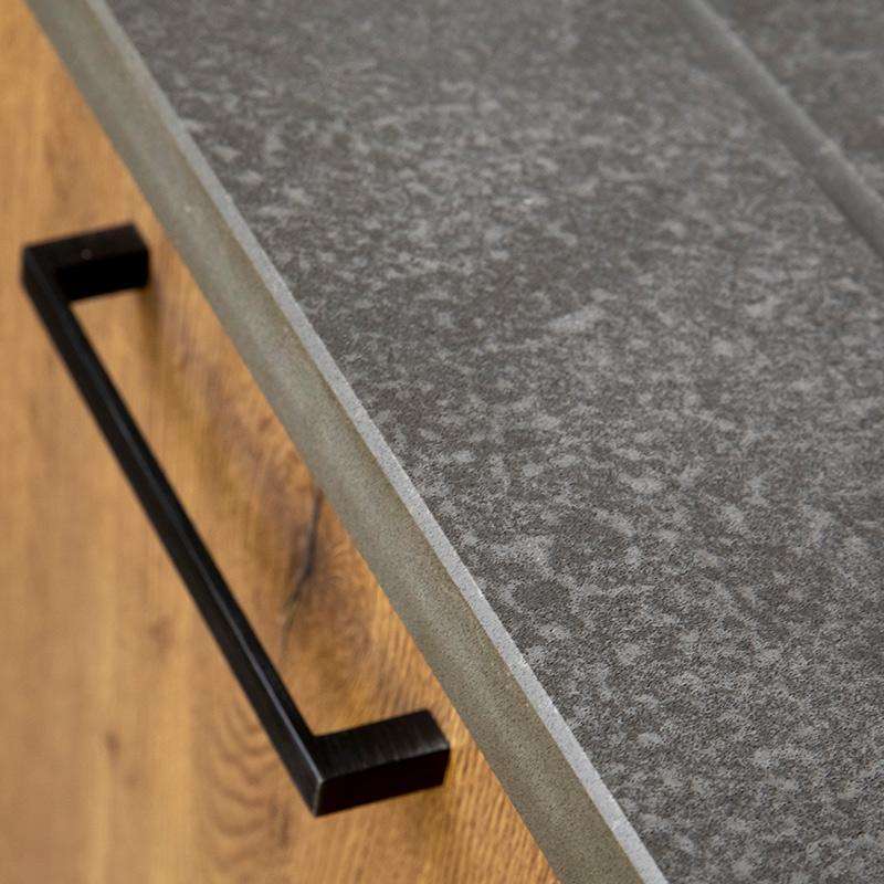 Kitchen design worktop detail by Hubble