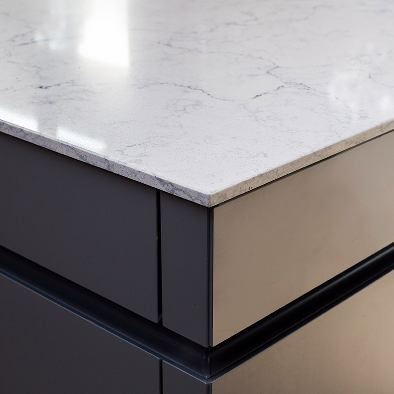 Leicht kitchen design detail in Guildford residential property by Hubble