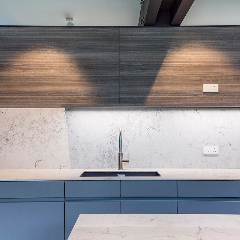 Leicht kitchen sink in Guildford residential property by Hubble