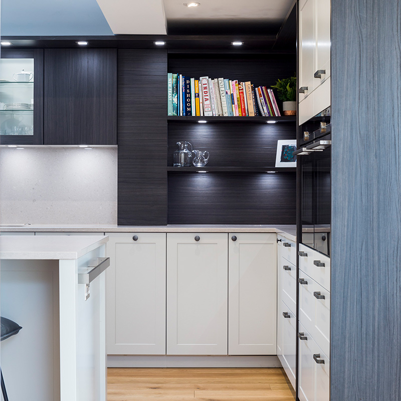 Hubble open plan kitchen hub with dining and living space