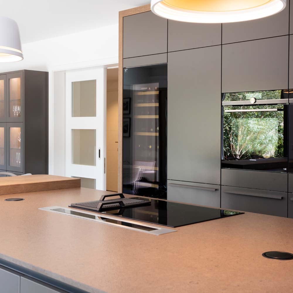 Modern German designer kitchen by Hubble