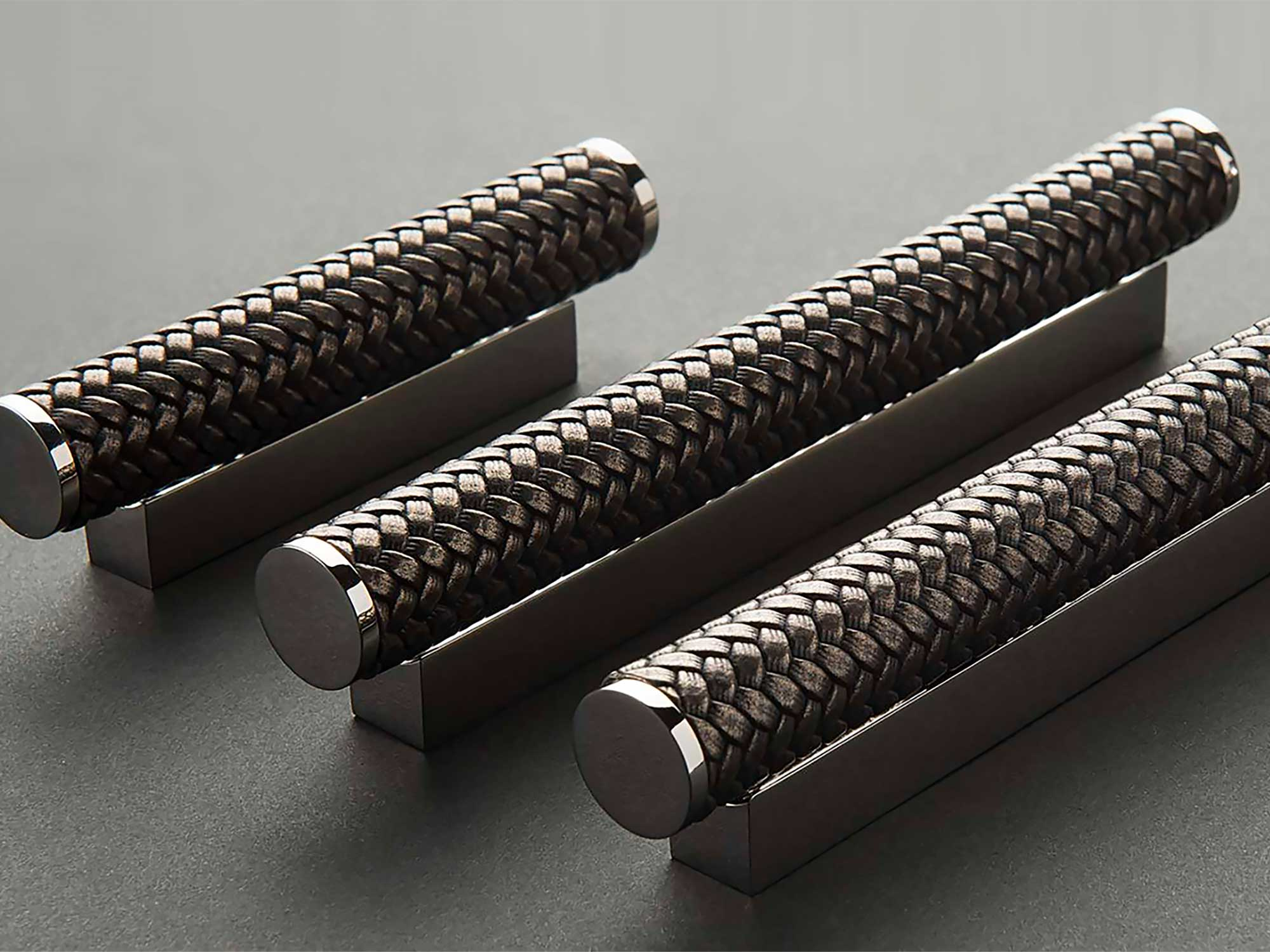 Turnstyle kitchen handles by Hubble