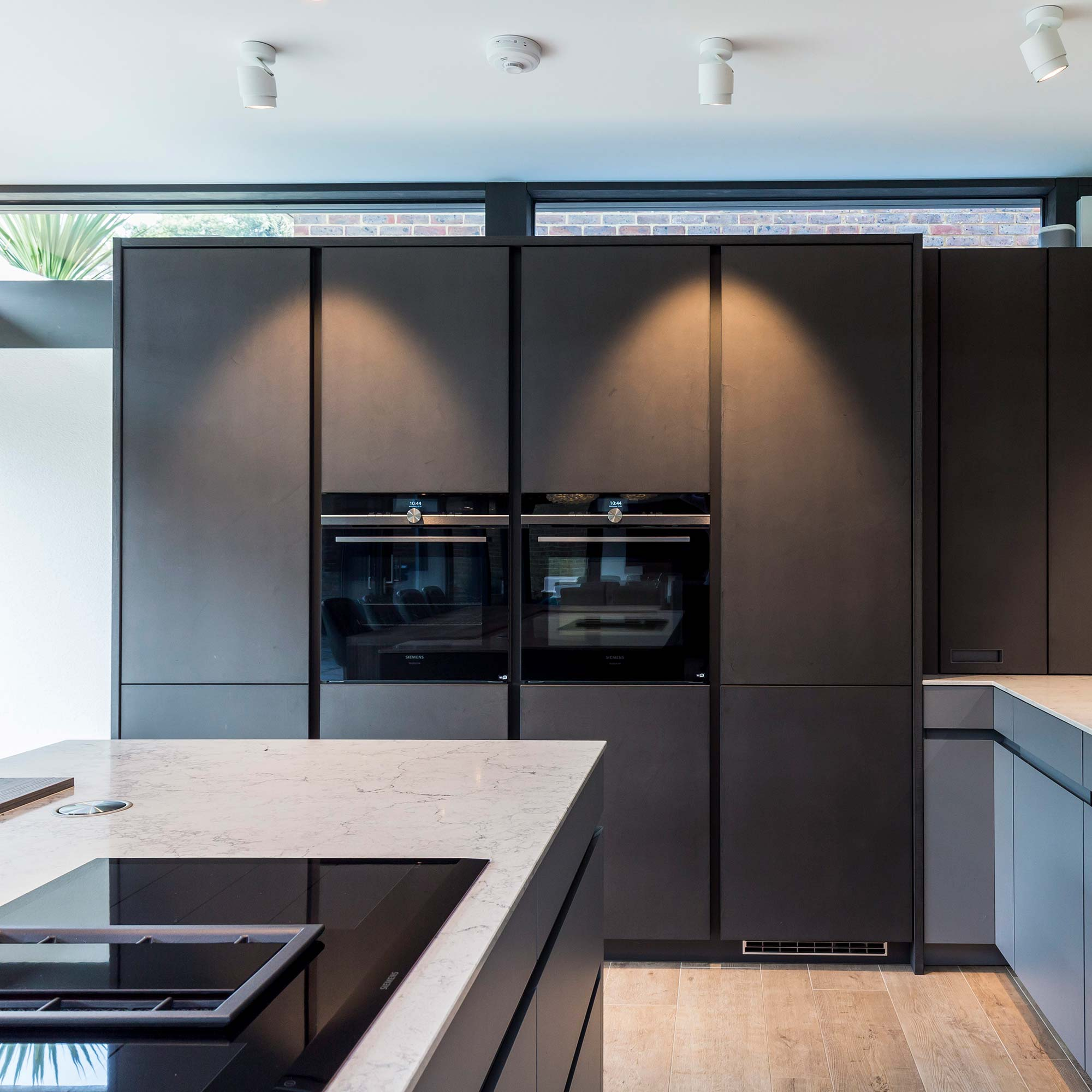Vertical designer kitchen handle systems from Hubble