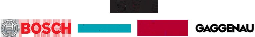 BSH Bosch Siemens Neff Gaggenau logos