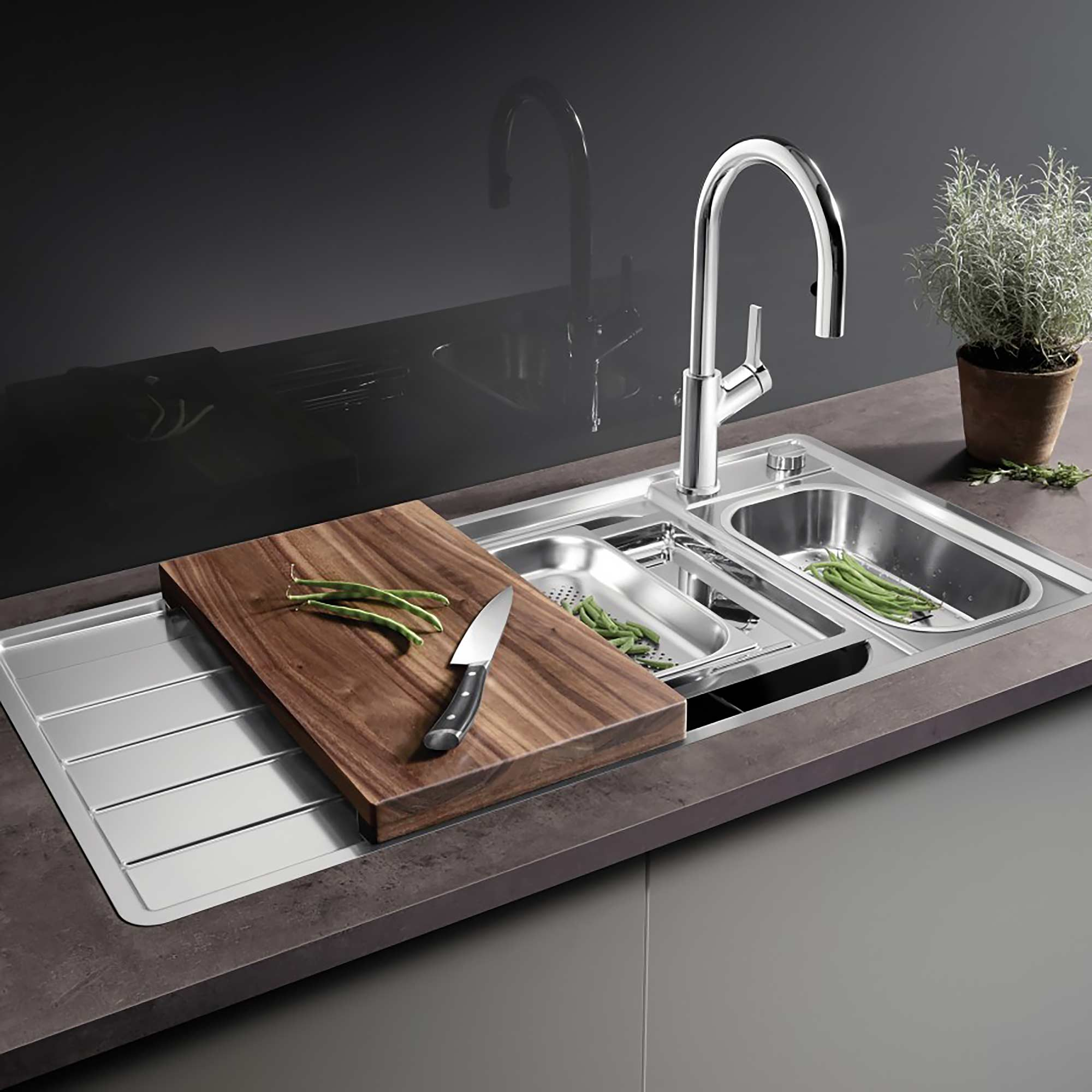 Blanco kitchen sink Axis