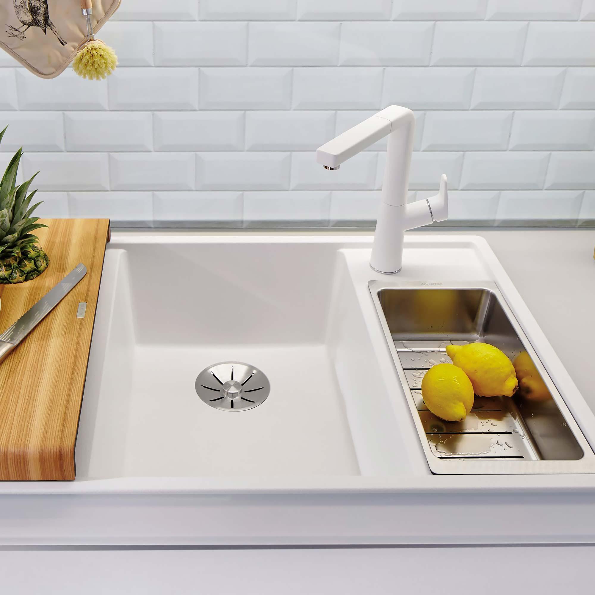 Blanco kitchen sink white