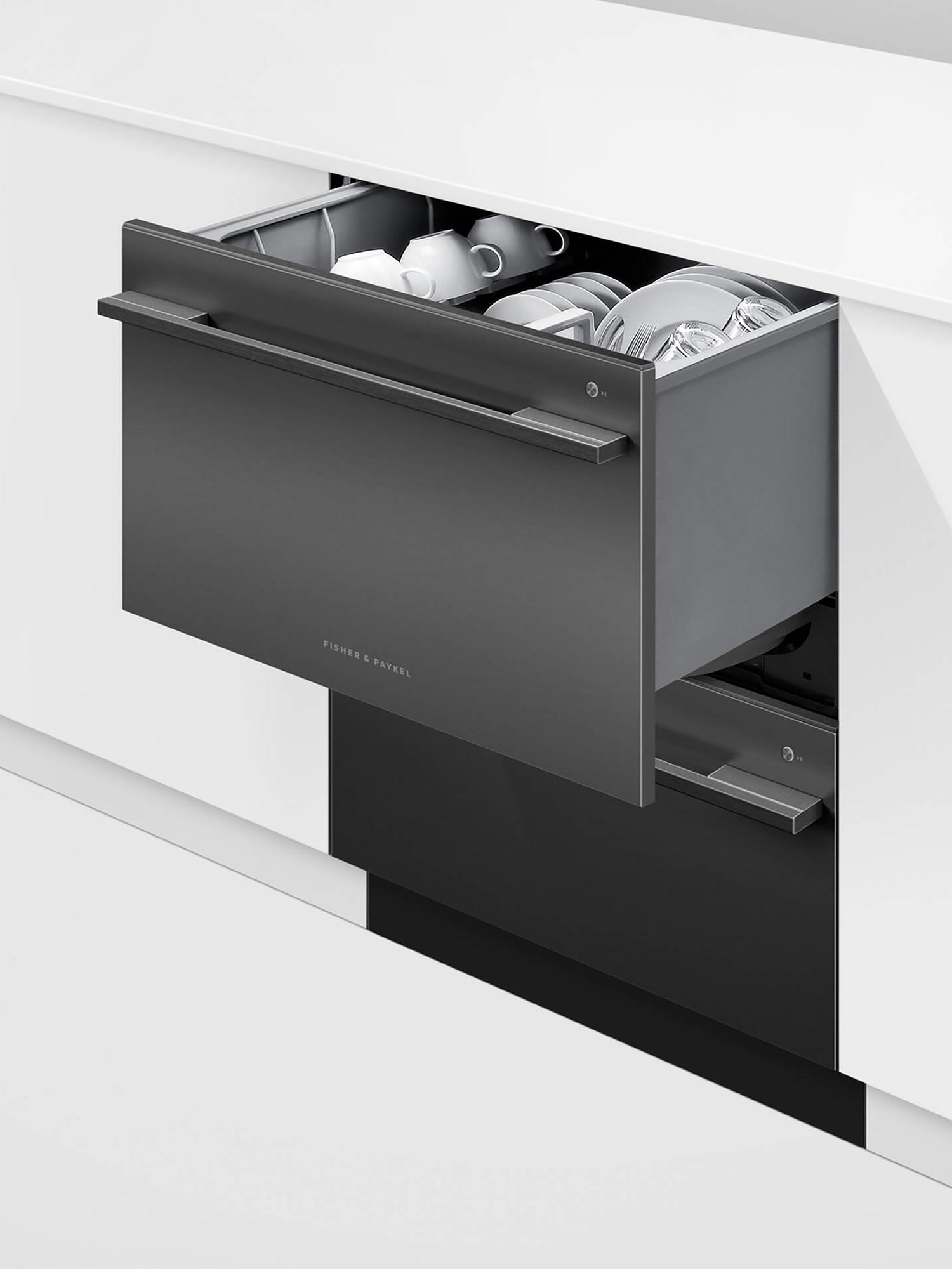 Fisher Paykel insitu open top drawer