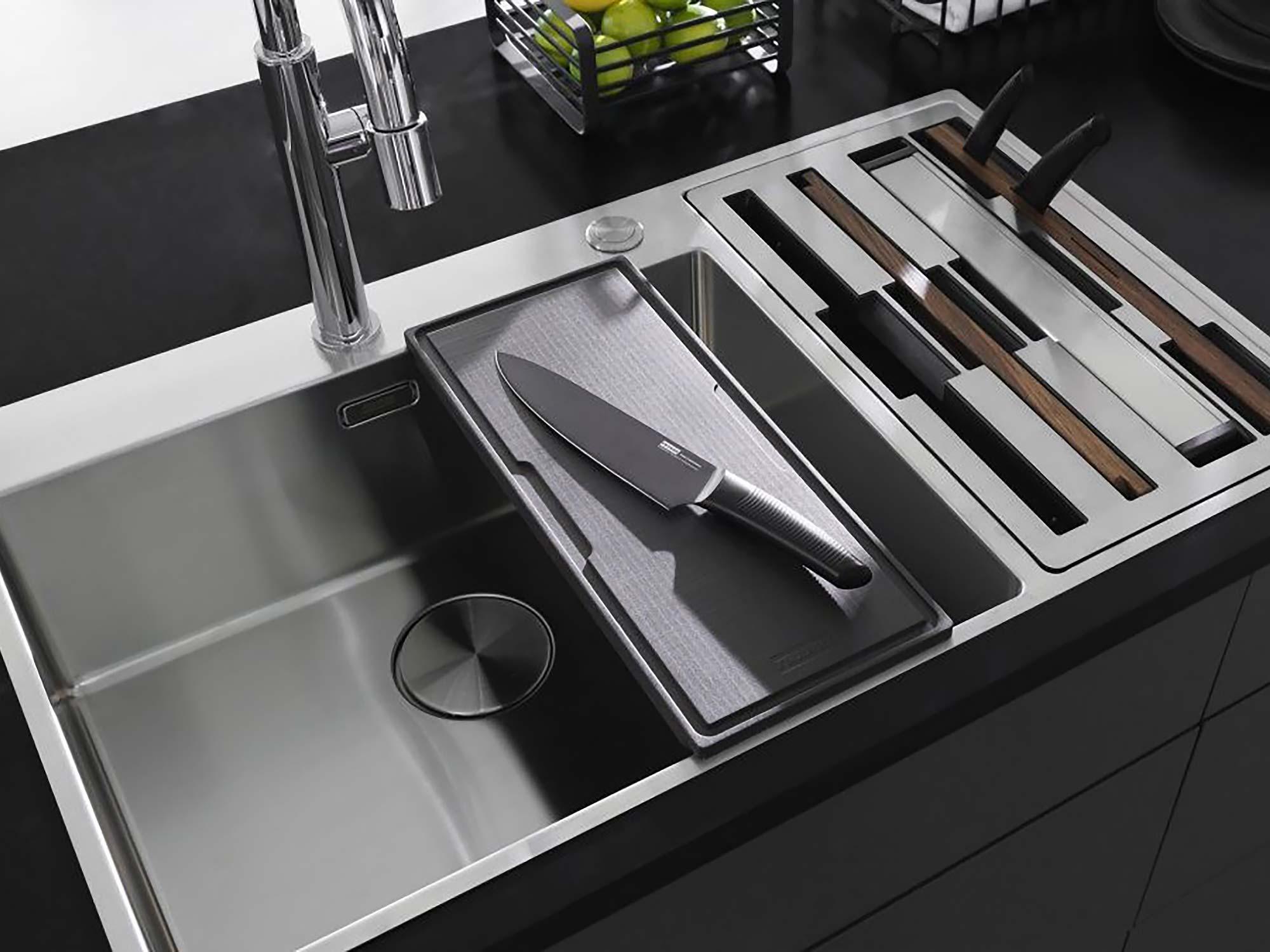 Franke kitchen sink black
