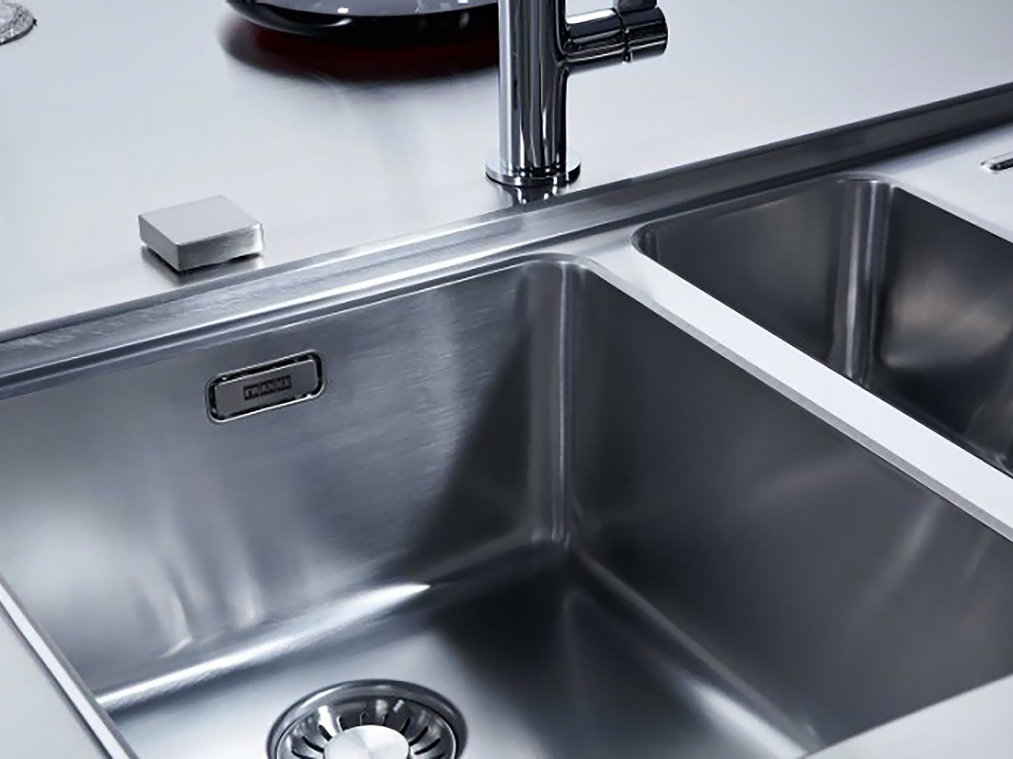 Franke kitchen sink stainless steel