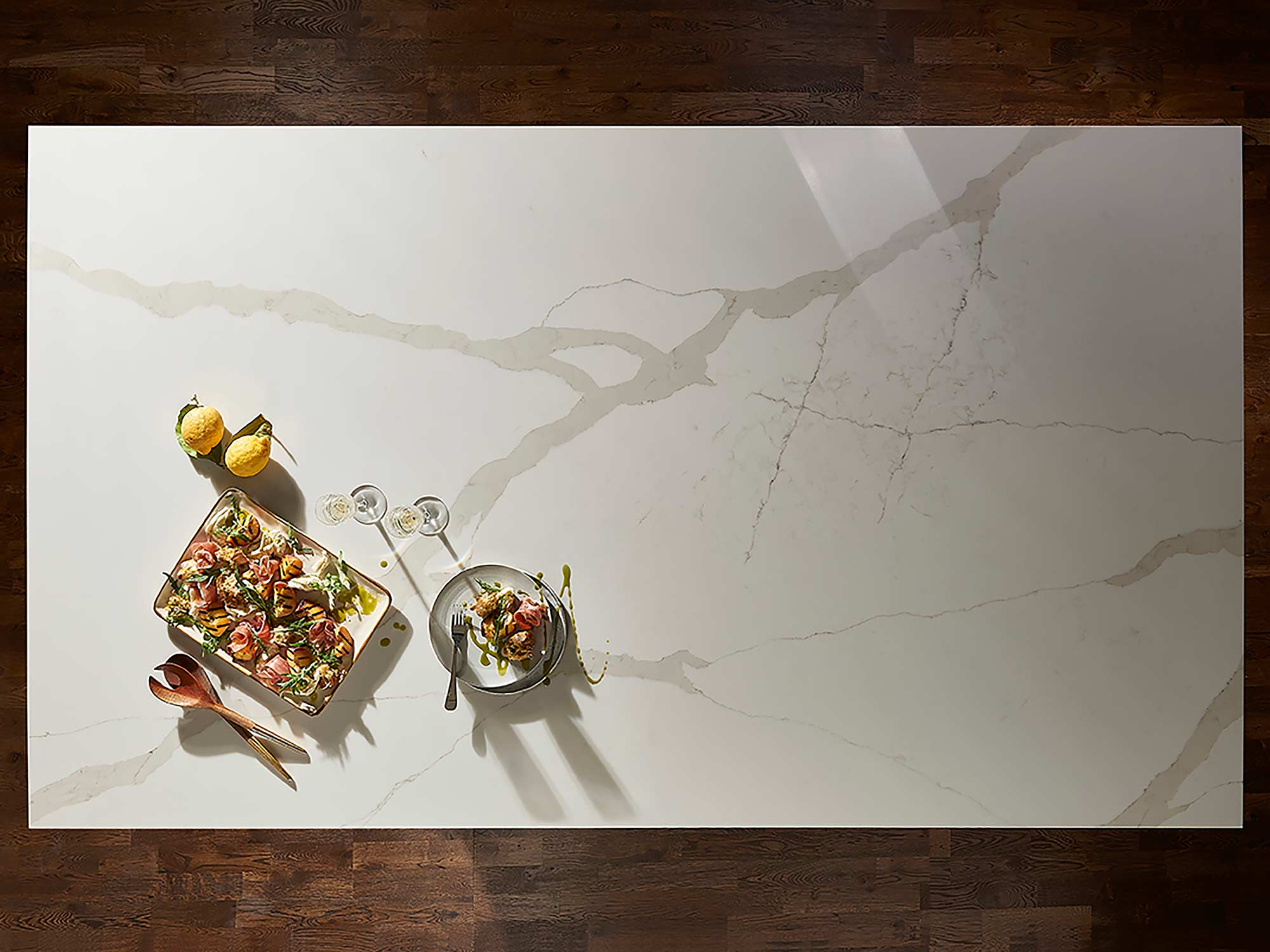 Konigstone kitchen worktop Calcatta