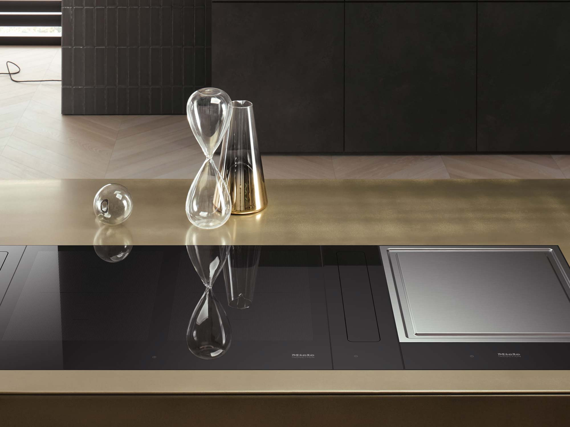 Miele cooker hob kitchen appliance
