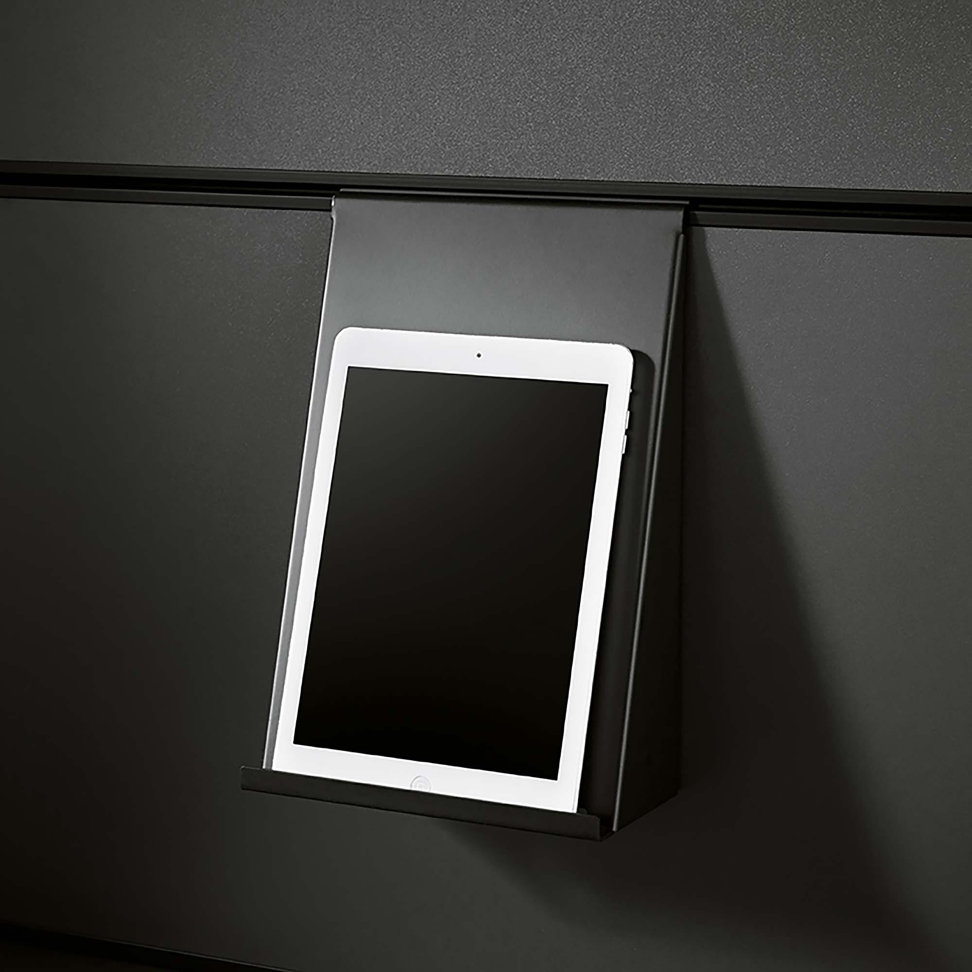 Schuller Panel System splashback halterung tablet
