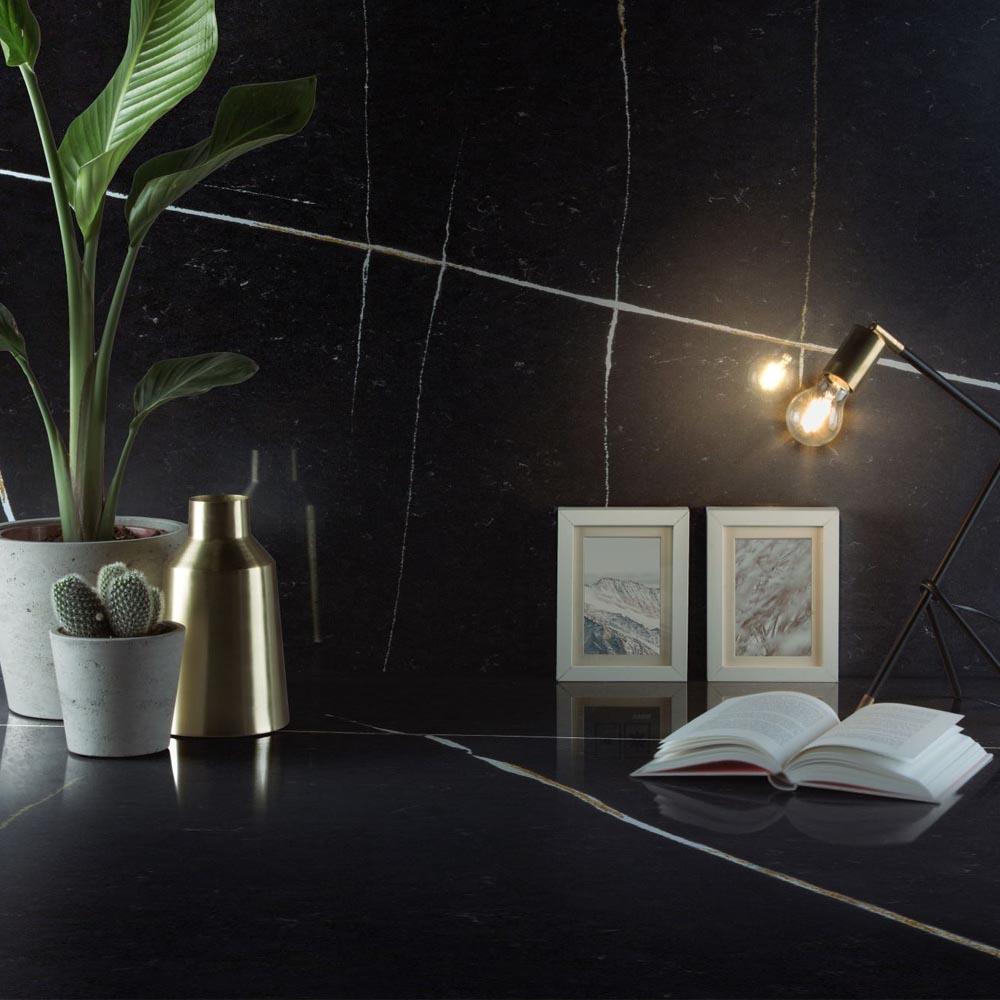 Silestone Eternal Noir Kitchen | Hubble
