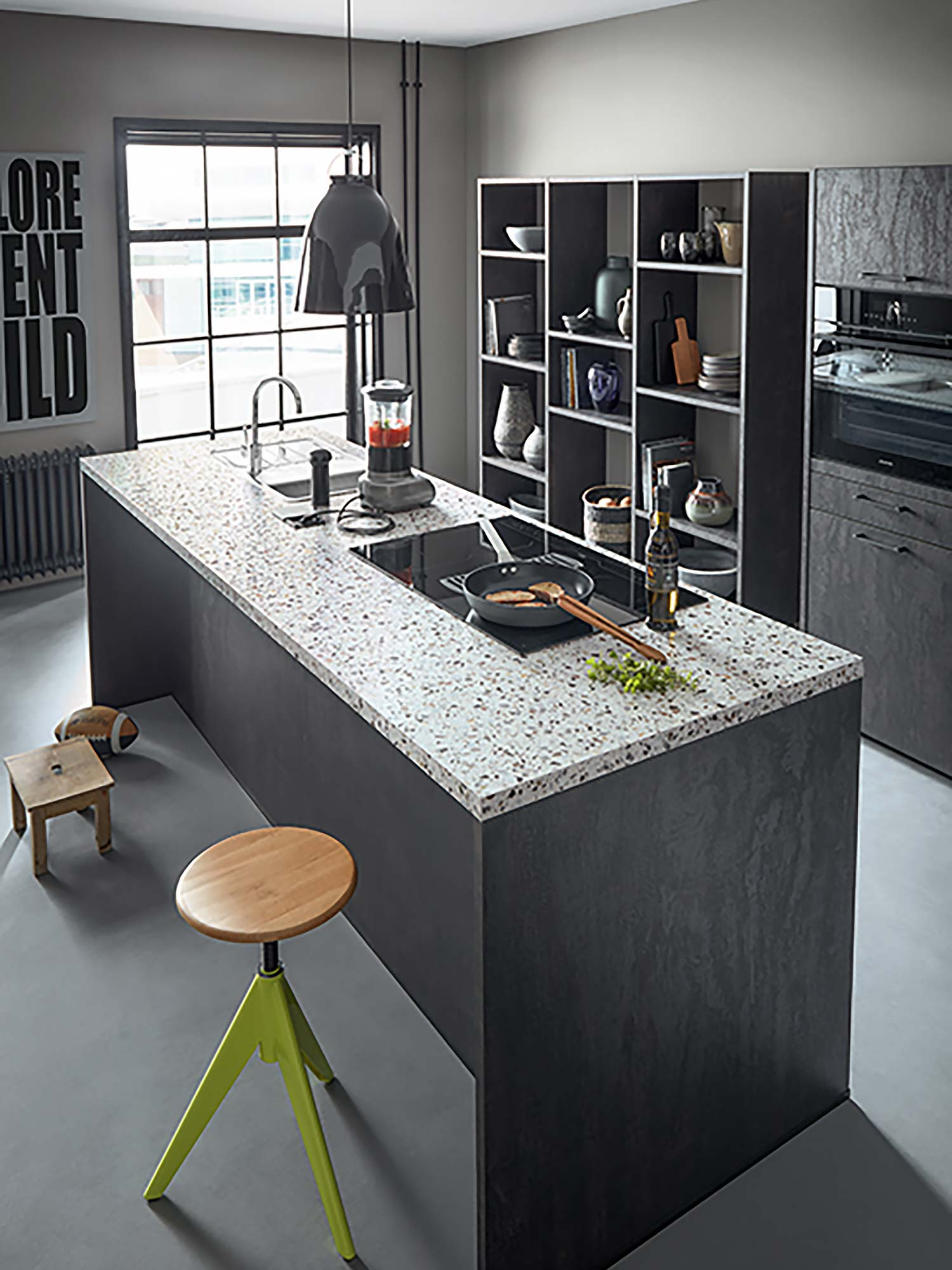 Laminate kitchen worktop