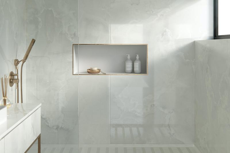 Dekton Helena Bathroom   Hubble Kitchens & Interiors
