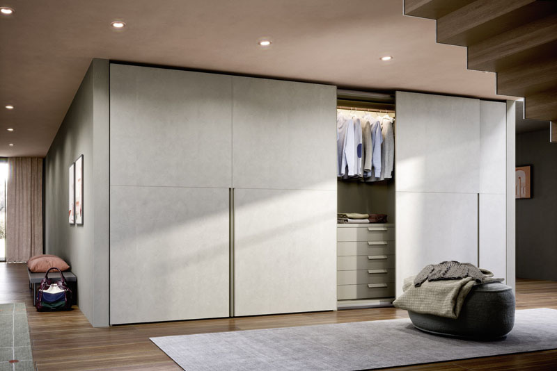 Novamobili Slide Wardrobe Light | Hubble Kitchens & Interiors