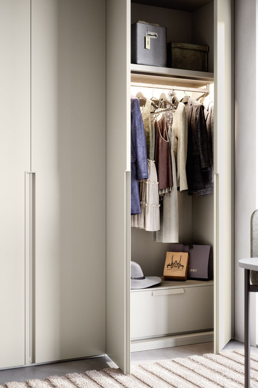 Novamobili Hinged Wardrobe Light | Hubble Kitchens & Interiors