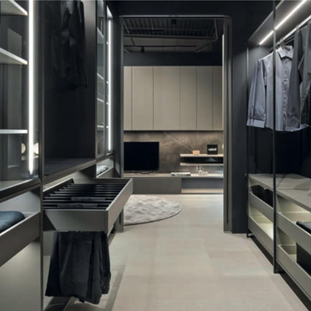 Leicht Dressing Room | Hubble Kitchens & Interiors