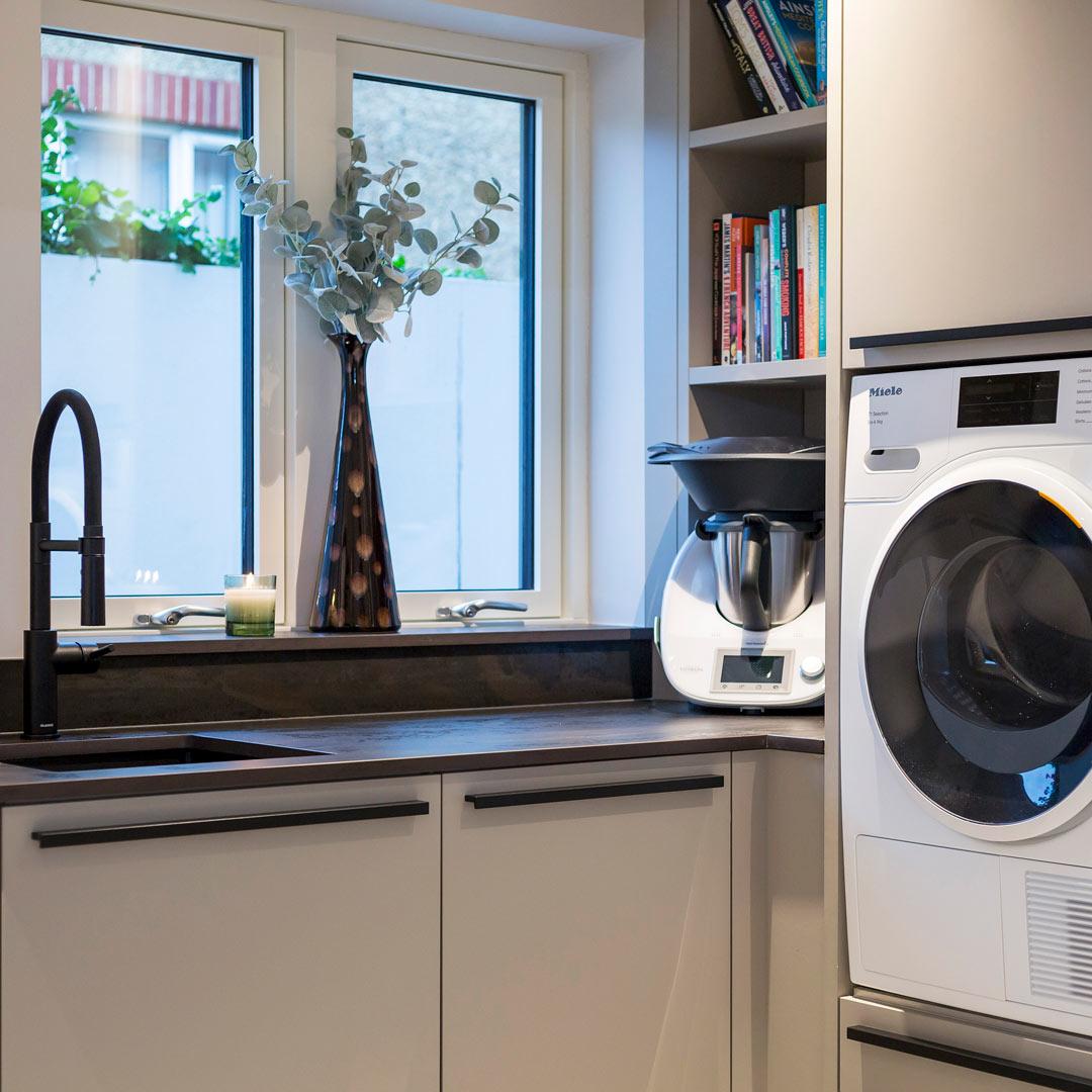 Drayton Lane Kitchen Utility Room | Hubble Kitchen